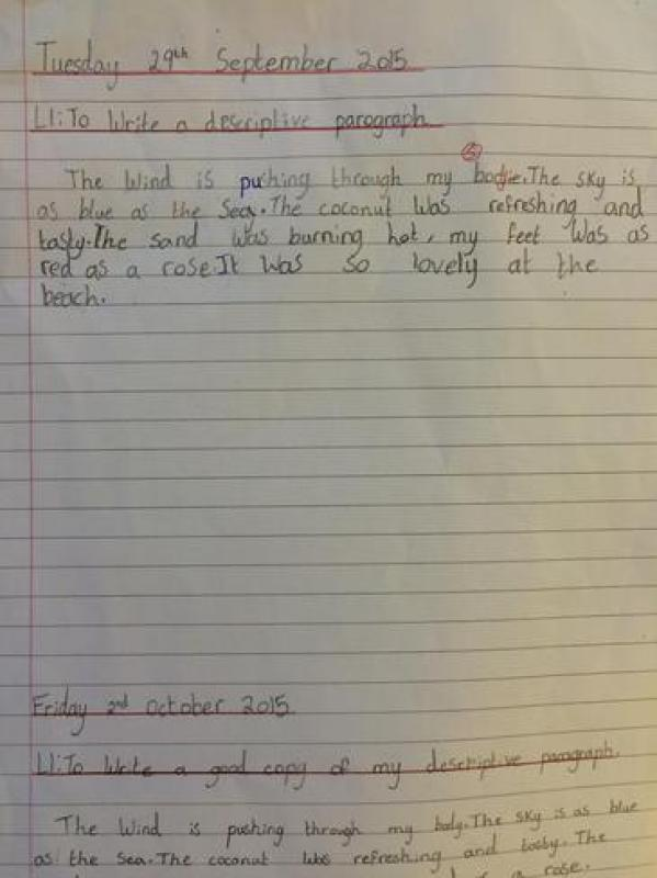 year 3 literacy - gregory cool