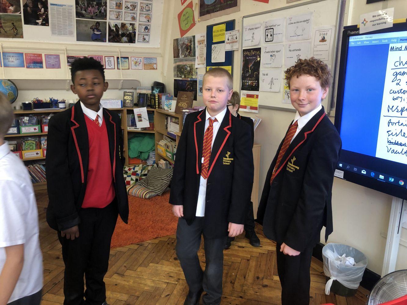 Year 6 - The Boy Who Cried Wolf - Daubeney Primary School